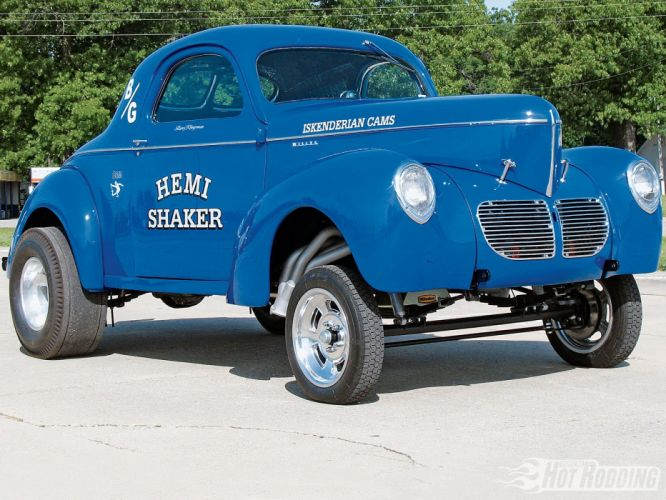 1940 Willys Coupe Nostalgia Gasser Drag Dragster Race USA 1600x1200-03 wallpaper
