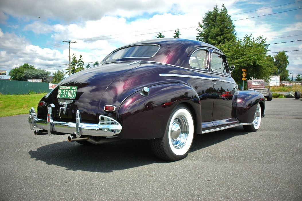 1941 Chevrolet Chevy Coupe Special Deluxe Hotrod Hot Rod Custom Old School USA 1500x1000-08 wallpaper