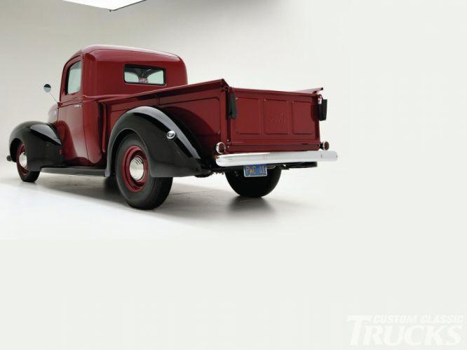 1941 Ford Pickup Hotrod Hot Rod Custom Old School USA 1600x1200-03 wallpaper