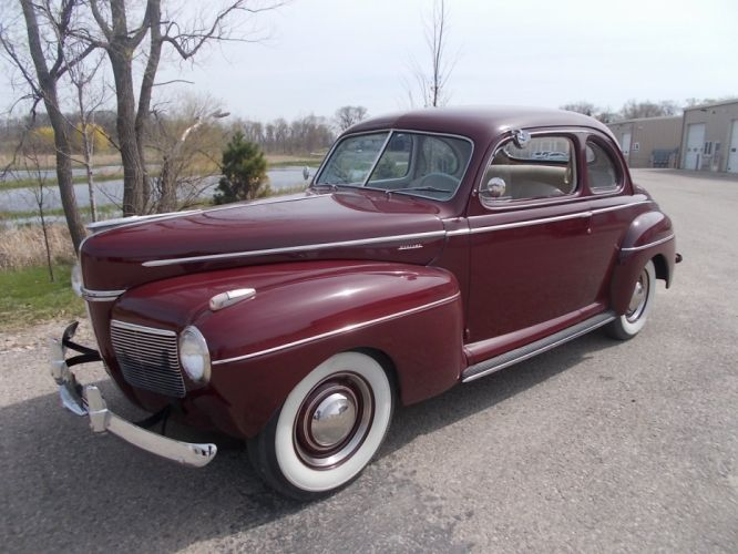 1941 Mercury Coupe Classic Old Vintage USA 1600x1200-02 wallpaper