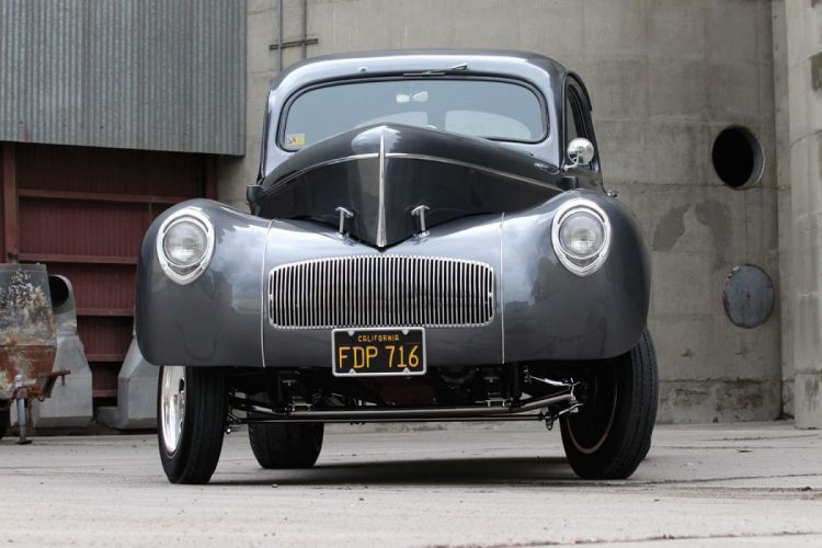 1941 Willys Coupe Drag Dragster Race Gasser USA 1600x1000-07 wallpaper