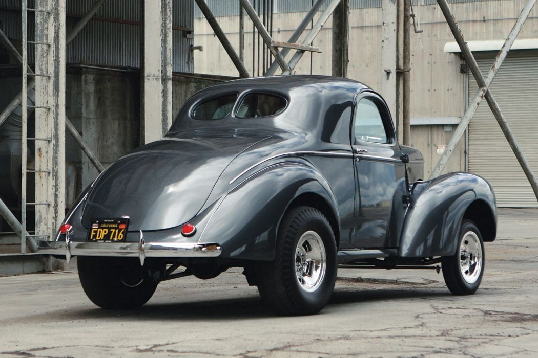 1941 Willys Coupe Drag Dragster Race Gasser USA 1600x1000-09 wallpaper