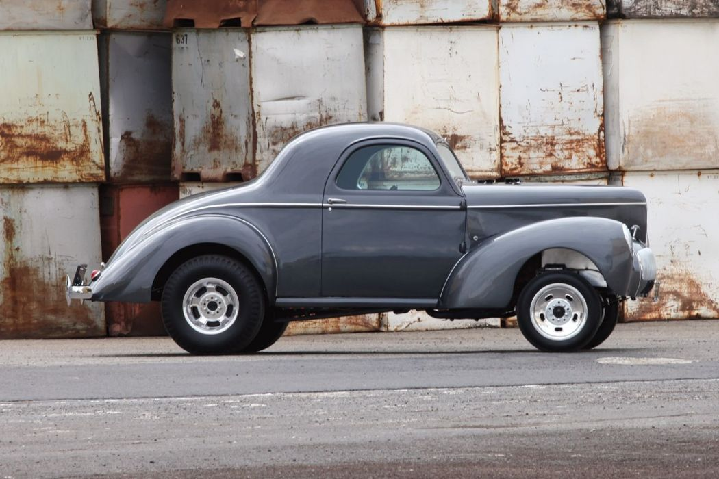 1941 Willys Coupe Drag Dragster Race Gasser USA 1600x1000-11 wallpaper