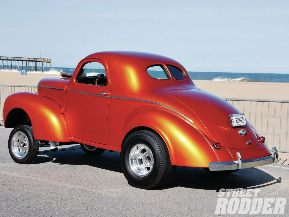 1941 Willys Coupe Drag Dragster Race Gasser USA 1600x1200-14 wallpaper