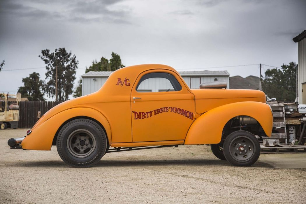 1941 Willys Coupe Gasser Drag Dragster Race Racing USA 2040x1360-01 wallpaper