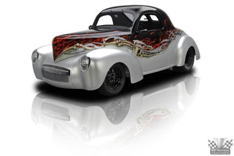 1941 Willys Coupe Streetrod Street Rod Prostreet Pro USA 2048x1365-06 wallpaper