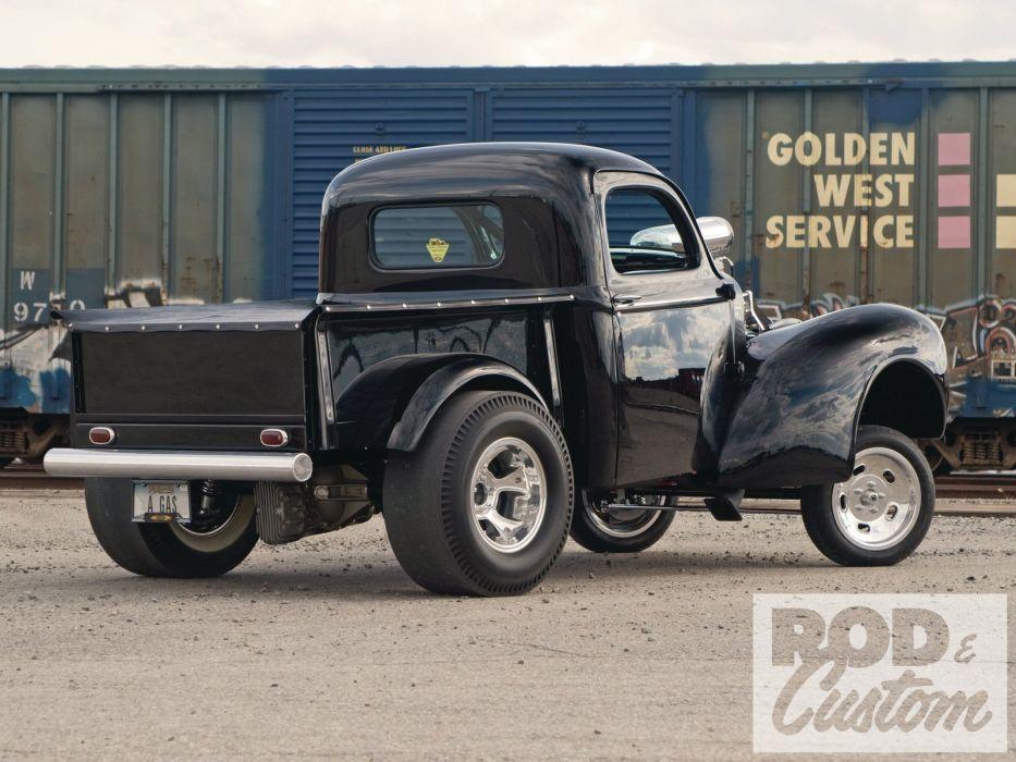 1941 Willys Pickup Drag Dragster Gasser Race USA 1600x1200-02 wallpaper