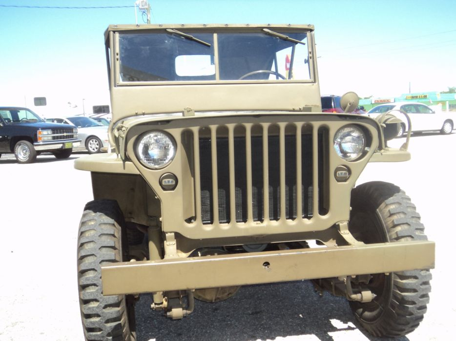 1942 Ford Military Jeep Military Classic Old Vintage Original USA 2592x1944-02 wallpaper