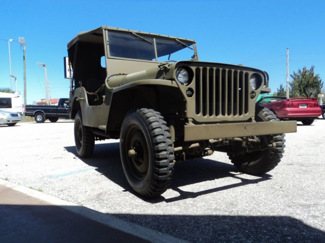 1942 Ford Military Jeep Military Classic Old Vintage Original USA 2592x1944-04 wallpaper