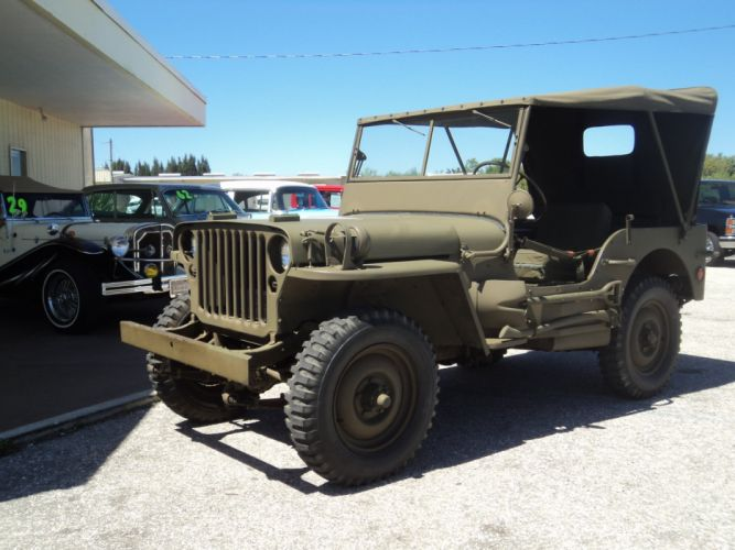 1942 Ford Military Jeep Military Classic Old Vintage Original USA 2592x1944-05 wallpaper