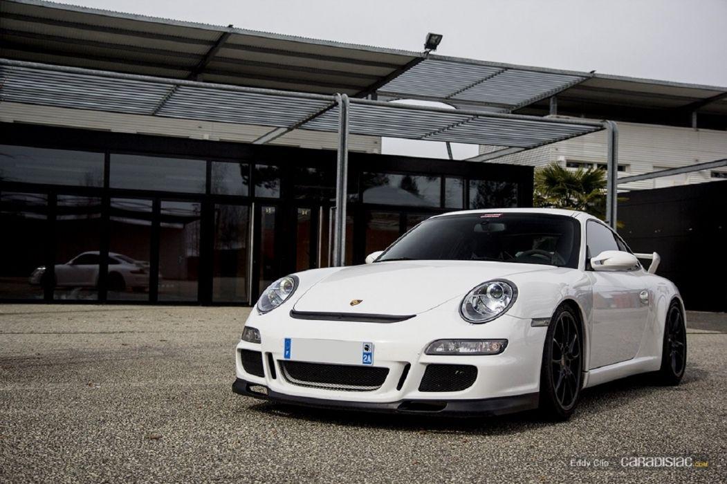 Porsche 997 GT3 coupe cars wallpaper