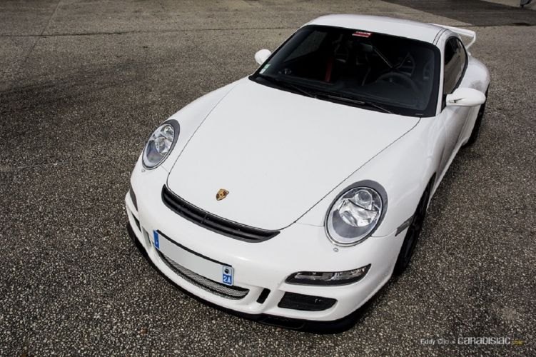Porsche 997 GT3 coupe cars wallpaper