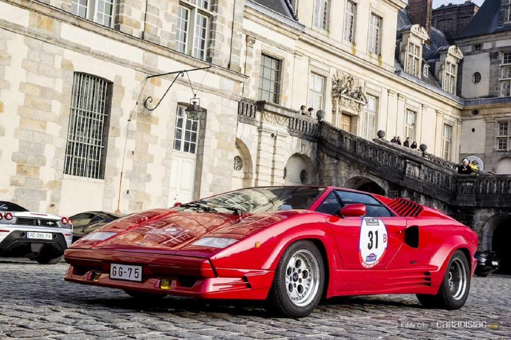 Lamborghini Countach 25eme Anniversaire cars supercars wallpaper
