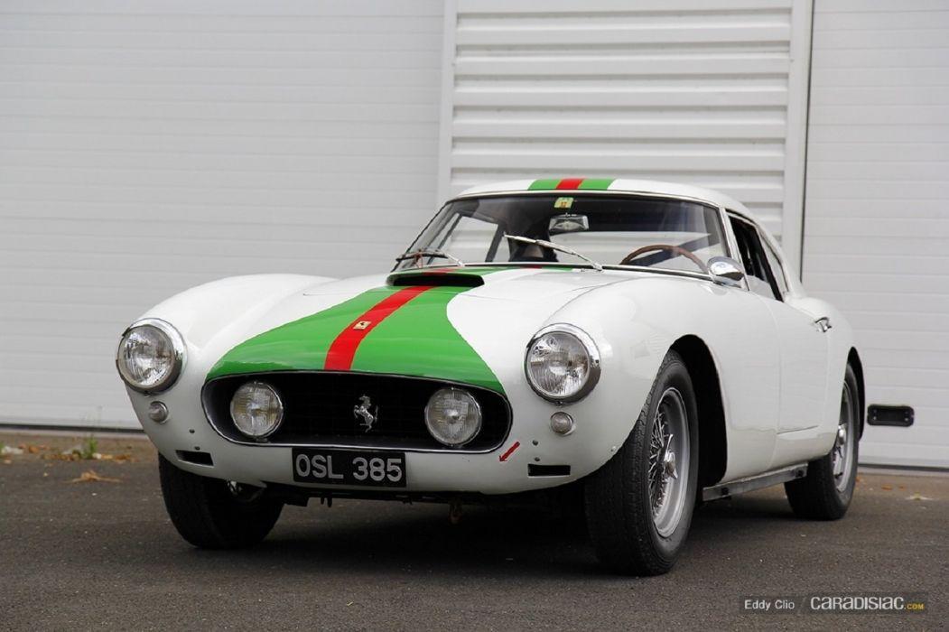Ferrari 250 Interim Berlinetta cars classic wallpaper