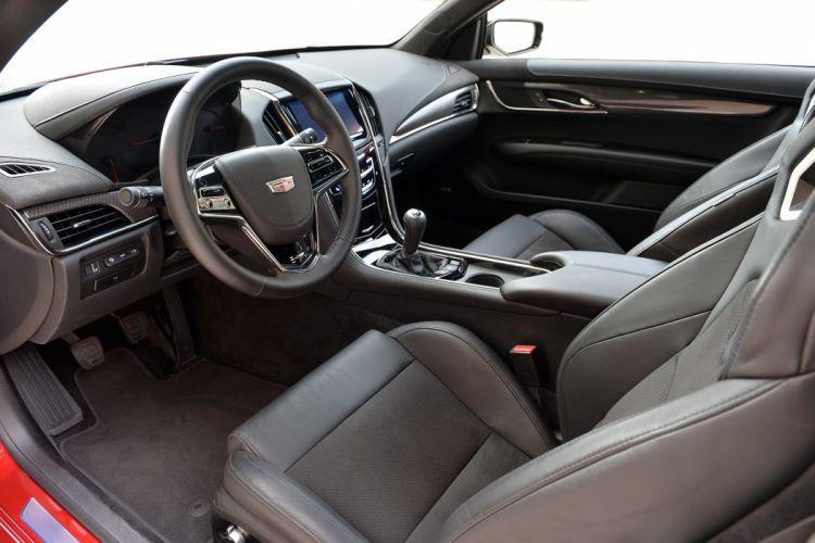 2016 Cadillac ATS-V coupe cars wallpaper