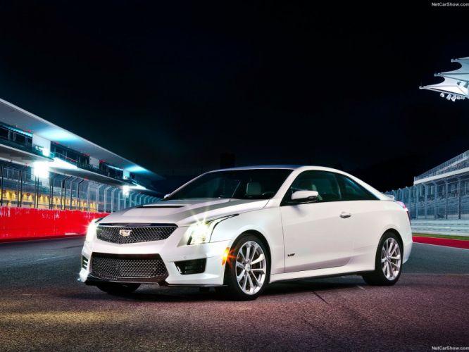 2016 ATS-V Cadillac cars Coupe wallpaper