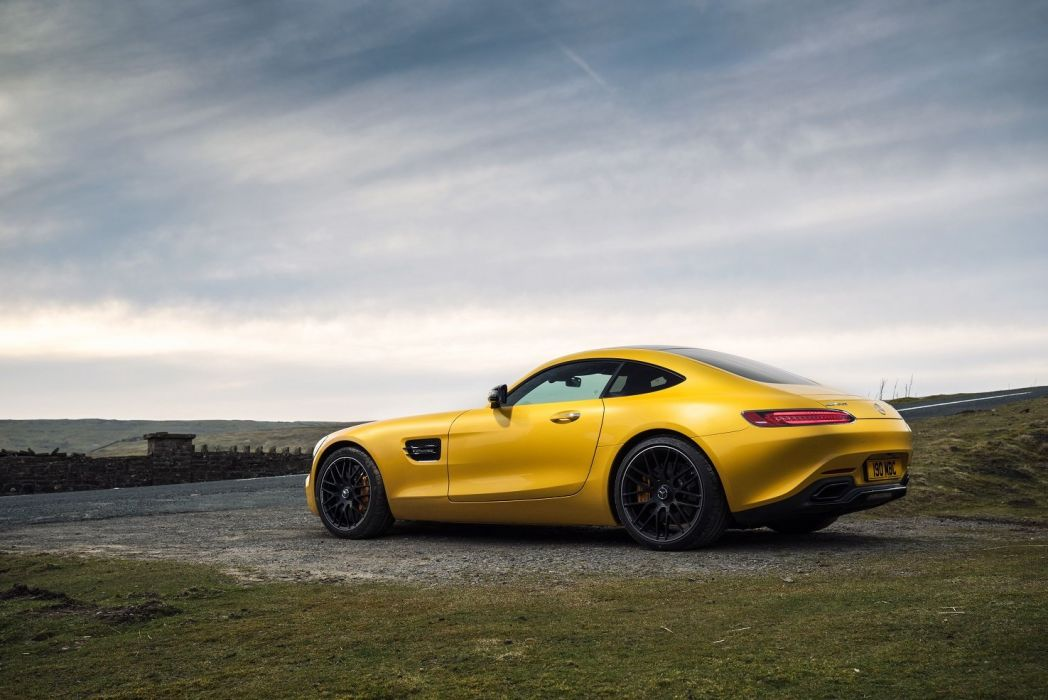 Mercedes AMG Gt-S UK-spec 2015 coupe cars wallpaper