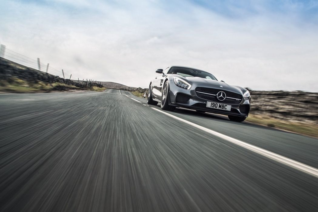 Mercedes AMG Gt-S edition 1 UK-spec 2015 coupe cars wallpaper