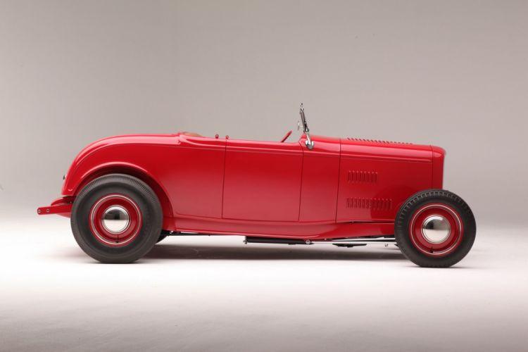 1932 Ford Roadster Hightboy Hotrod Hot Rod Custom Old School USA 2040x1360-06 wallpaper