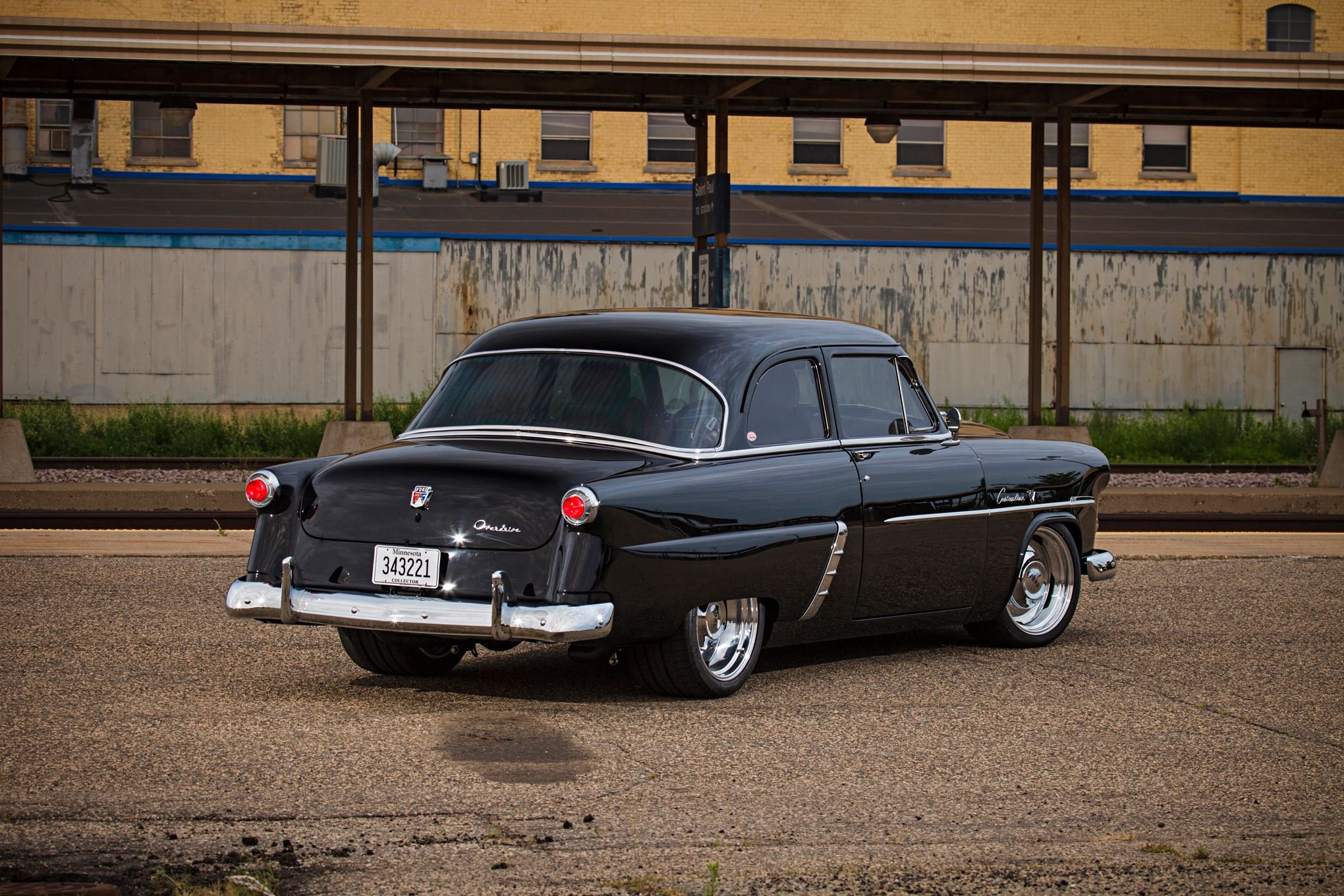 1952 Ford Customline Sedan Two Door Streetrod Street Rod Rodder 1951 Hot Truck Pics Black Usa 2040x1360 03 Wallpaper 673022 Wallpaperup