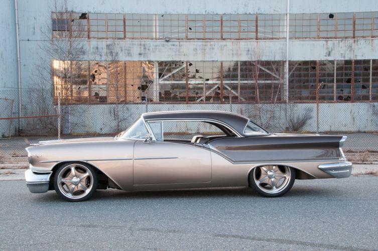 1957 Oldsmobile Super 88 Coupe streetrod Street Rod Rodder USA 2048x1360-01 wallpaper