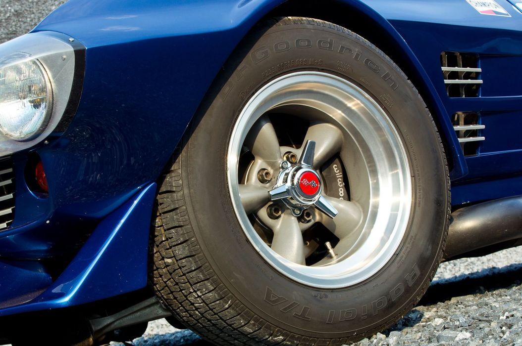 1963 Chevrolet Chevy Corvette Replica Vintage Rece Car USA 2048x1360-07 wallpaper