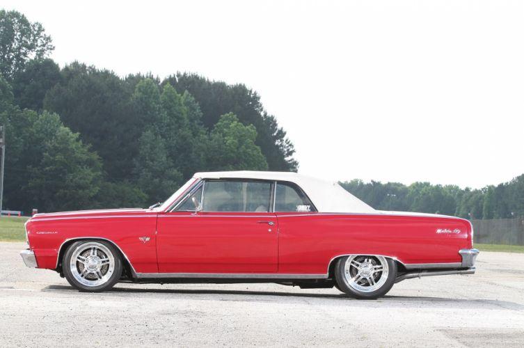 1964 Chevrolet Chevy Chevelle Convertible Streetrod Street Rod Rodder Hot USA 2048x1360-04 wallpaper