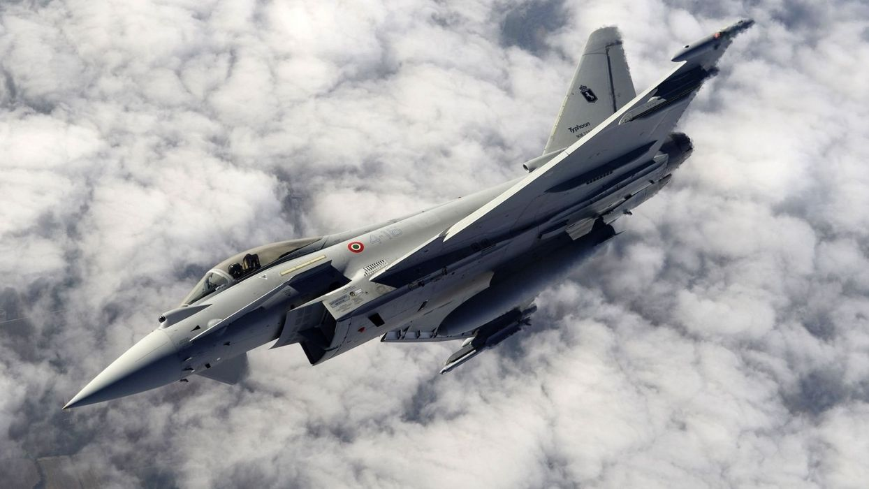 Eurofighter TYPHOON by ER12 wallpaper