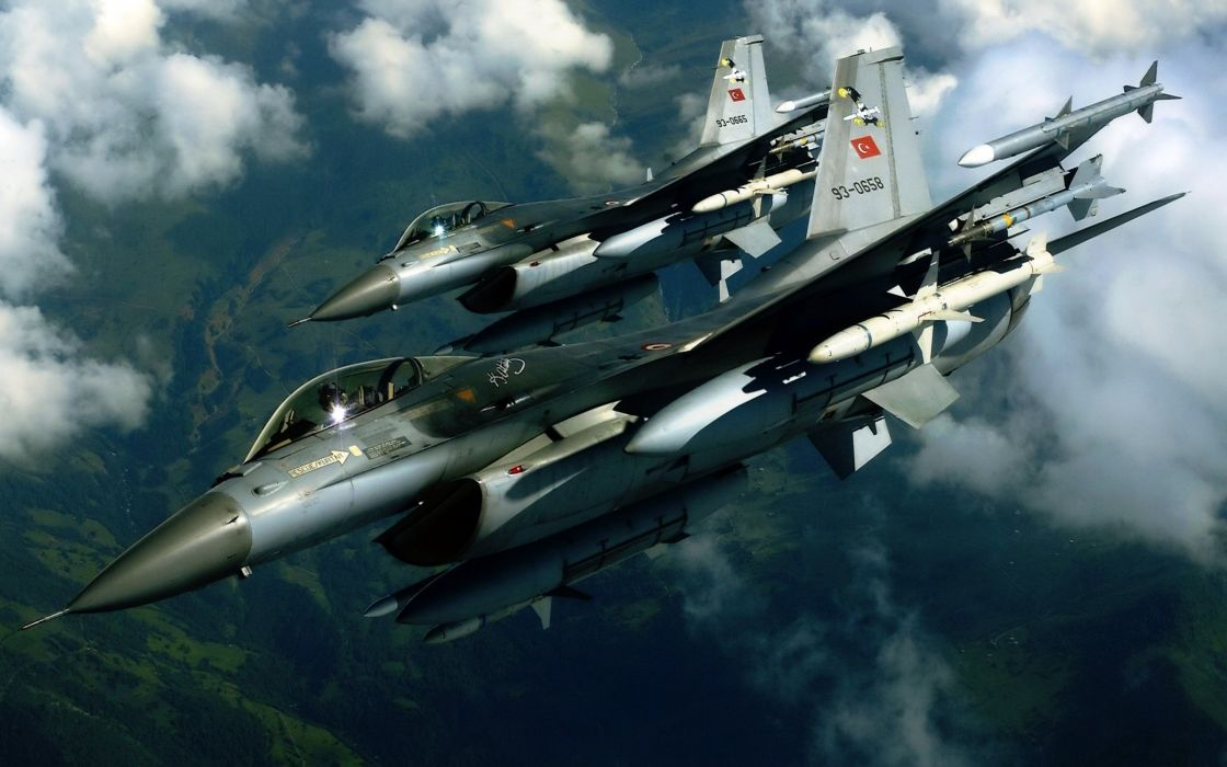 Aircraft F-16 Turkish Air Force wallpaper