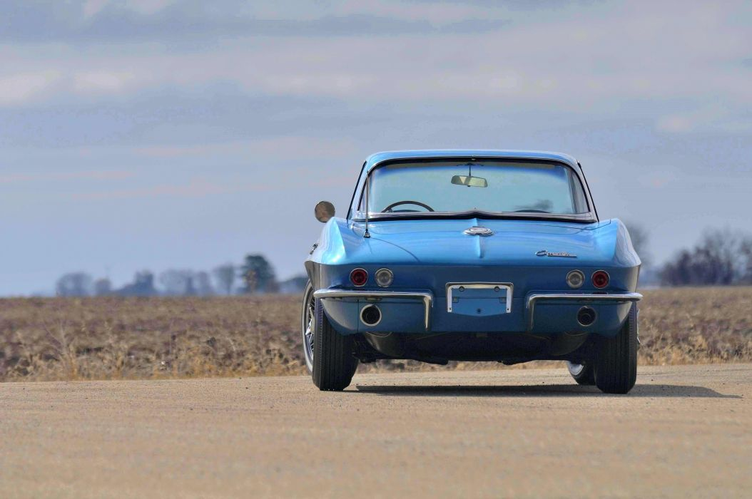1965 Chevrolet Chevy Corvette Convertible Stigray Muscle Classic Old Original USA 4288x2848-02 wallpaper