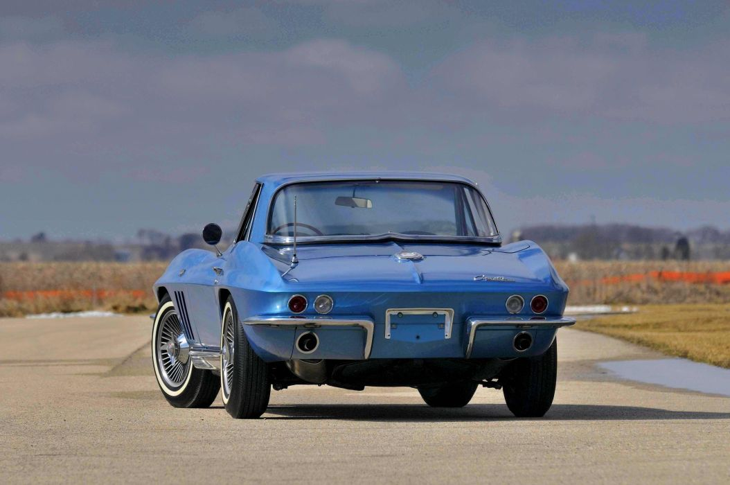 1965 Chevrolet Chevy Corvette Convertible Stigray Muscle Classic Old Original USA 4288x2848-05 wallpaper
