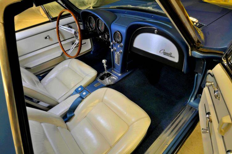 1965 Chevrolet Chevy Corvette Convertible Stigray Muscle Classic Old Original USA 4288x2848-08 wallpaper