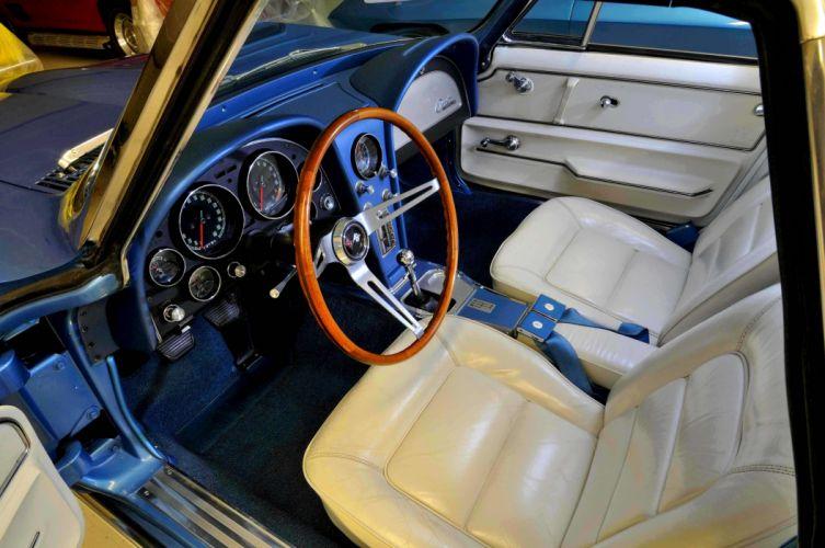 1965 Chevrolet Chevy Corvette Convertible Stigray Muscle Classic Old Original USA 4288x2848-09 wallpaper