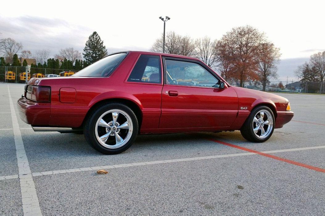 1988 Ford Mustang 5 0 Muscle Pony Streetrod Street Rod Rodder USA 2048x1360-01 wallpaper
