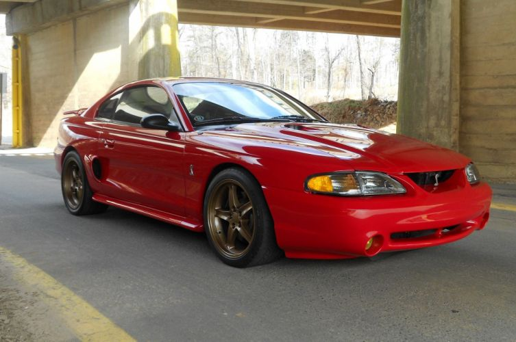 1994 Ford Mustang SVT Cobra Muscle Streetrod Street Rod Rodder USA 2048x1360-01 wallpaper