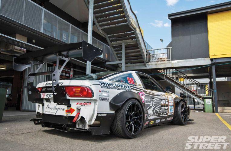 Nissan S13 380SX cars drift wallpaper