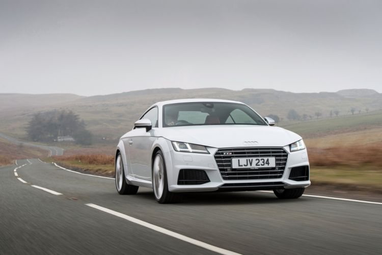 Audi TTS CoupA wallpaper