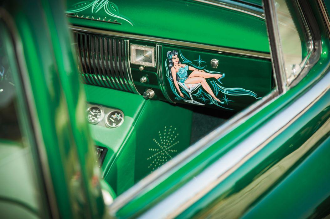 1950 Chevrolet Chevy Fleetline Streetrod Street Rod Custom Kustom Low Old School USA 5616x3730-06 wallpaper