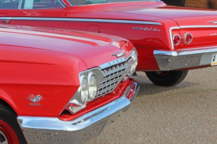1962 Chevrolet Bel Air Belair Biscayne 409 Classic Old Original USA 2048x1360-02 wallpaper