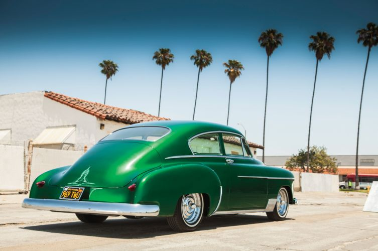 1950 Chevrolet Chevy Fleetline Streetrod Street Rod Custom Kustom Low Old School USA 5616x3730-10 wallpaper