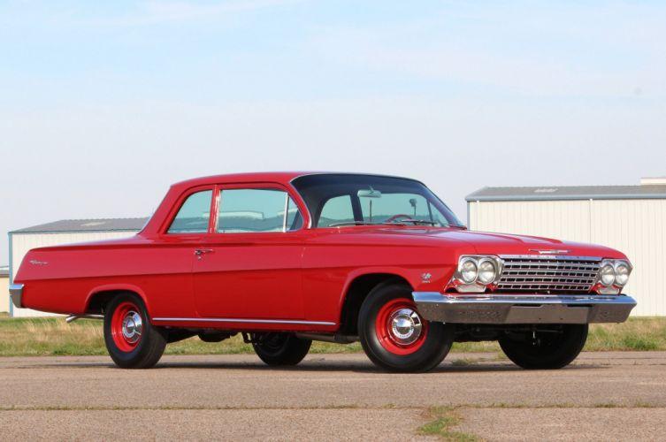 1962 Chevrolet Bel Air Belair Biscayne 409 Classic Old Original USA 2048x1360-07 wallpaper
