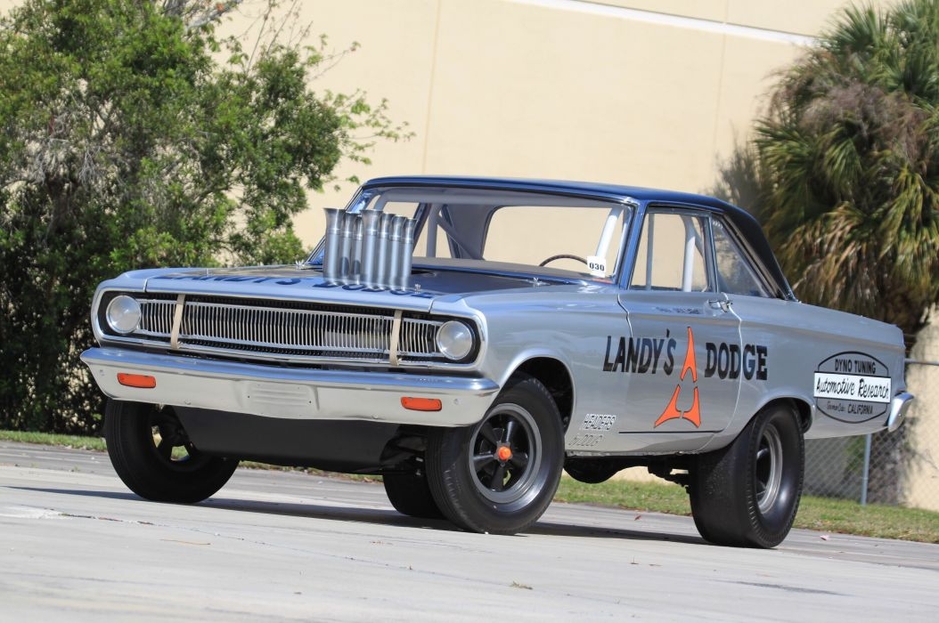 1965 Dodge Coronet A990 Pro Stock Drag Dragster Race Racing Vintage Nostalgia USA 4800x3188-01 wallpaper