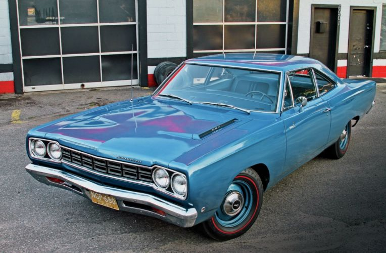 1968 Plymouth Road Runner Hemi Muscle Classic Old Nostalgic USA 2048x1340-01 wallpaper