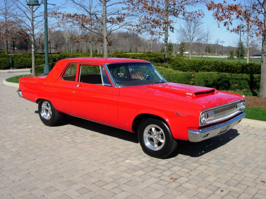 1965 Dodge Coronet A990 Drag Street Classic Old Vintage USA 2592x1944 wallpaper