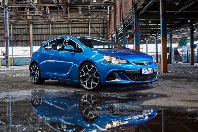 Holden Astra VXR 2015 cars blue wallpaper