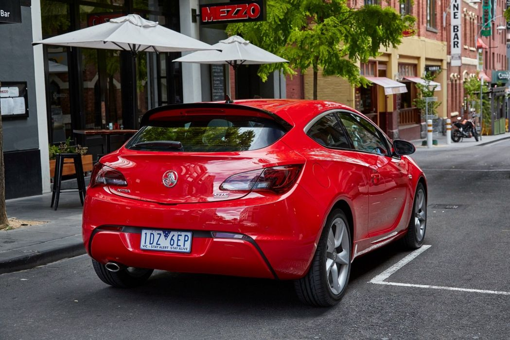 Holden Astra GTC 2015 cars red wallpaper