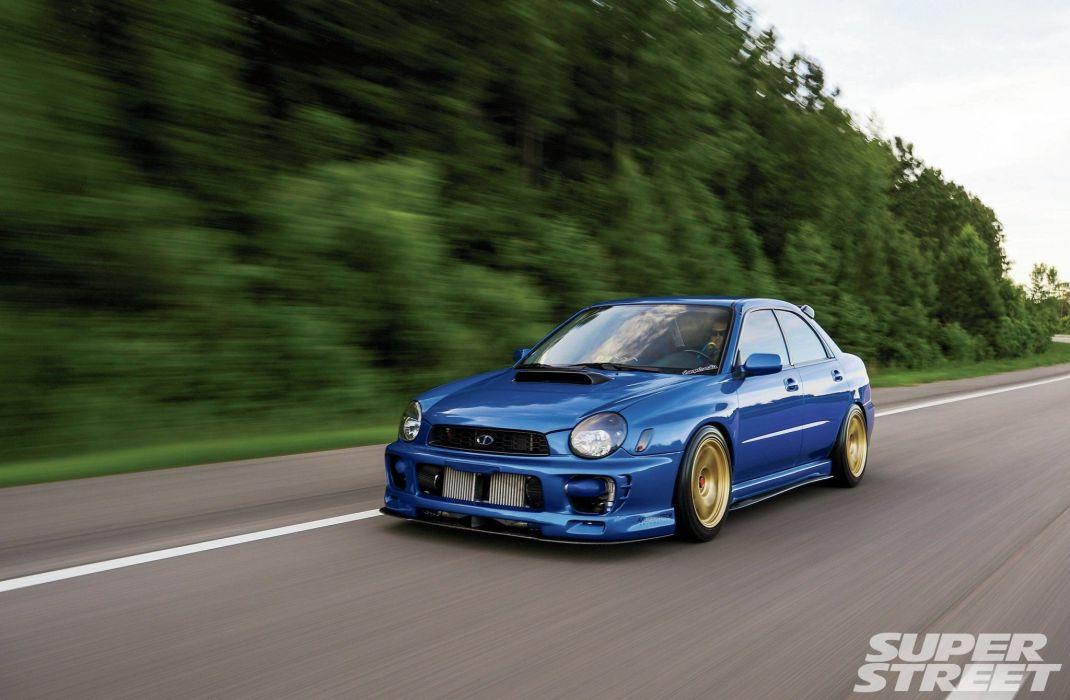 Twin-Turbo 2002 Subaru WRX cars