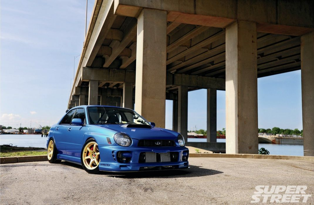 Twin-Turbo 2002 Subaru WRX cars modified tunig wallpaper