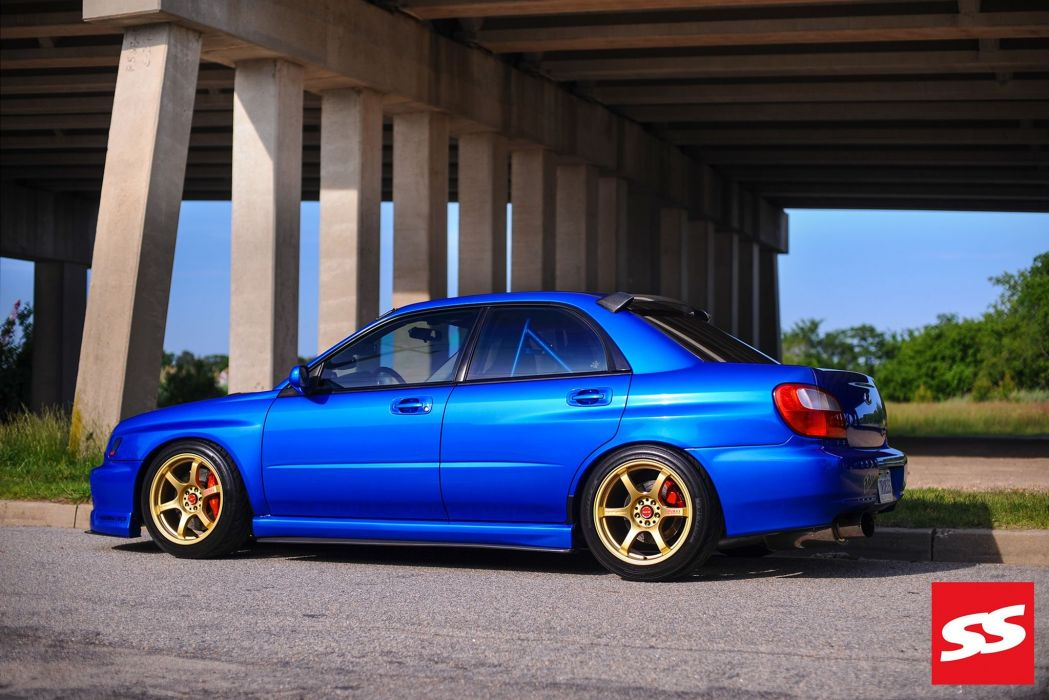 Twin-Turbo 2002 Subaru WRX cars modified tunig wallpaper