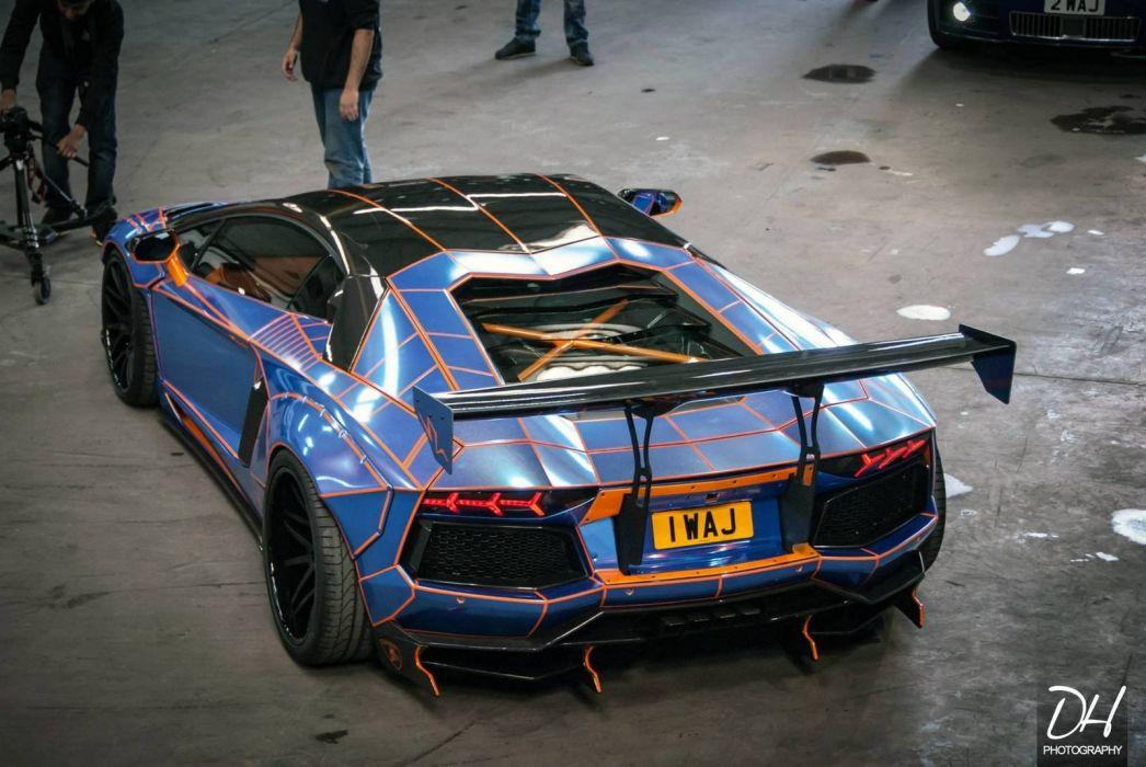 Lamborghini Aventador Liberty Walk tuning bodykit cars supercars wallpaper